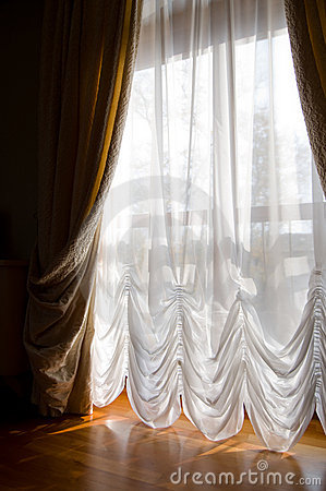 Curtains create comfort