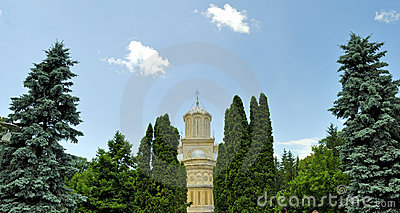 Curtea de Arges monastery in Romania