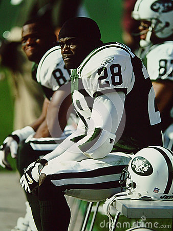Curtis Martin New York Jets Editorial Photography