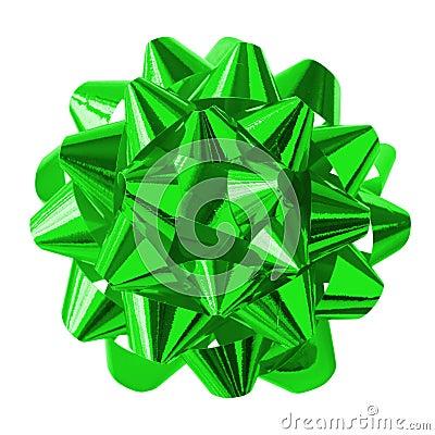 Curva verde