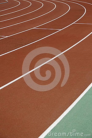 Curve, running track