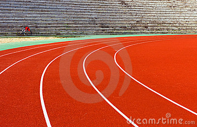 Curve in track