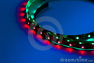 Curved in frame LED Lights