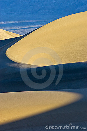 Curved Light in Sand Dune