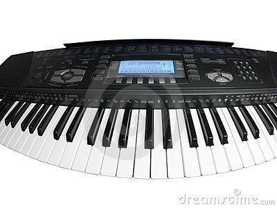 Curved musical keyboard