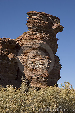 Curved Rock Pile