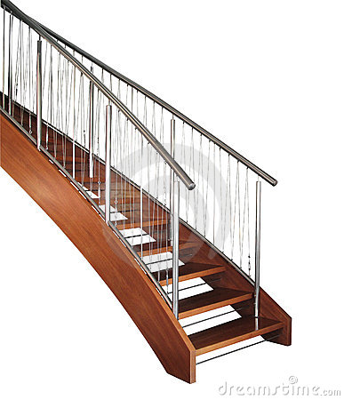 Free Curved Staircase Stock Photography - 15612622