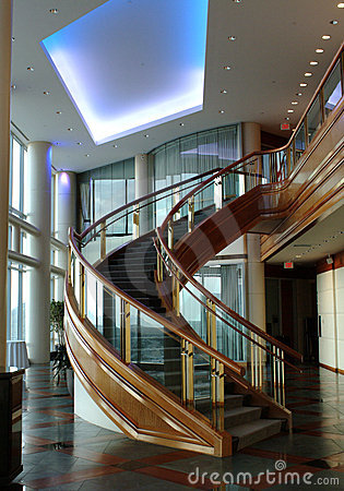 Free Curved Staircase Stock Photos - 3118693