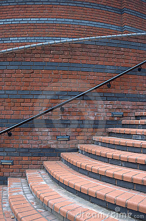 Free Curved Steps Royalty Free Stock Photo - 3427115