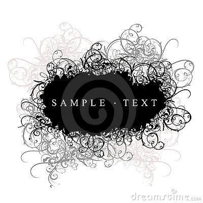 Free Curves Cloud Black And White Royalty Free Stock Photography - 2750227