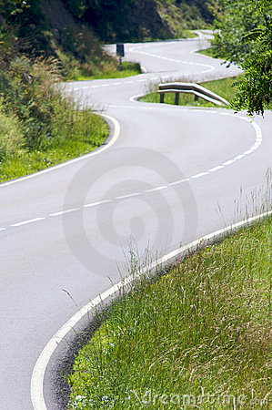 Free Curves In The Road Stock Images - 11631064