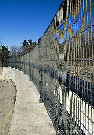 Curving Fence