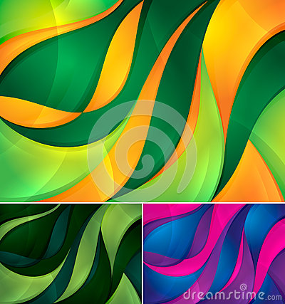 Free Curvy Abstract Background Stock Photos - 25709293