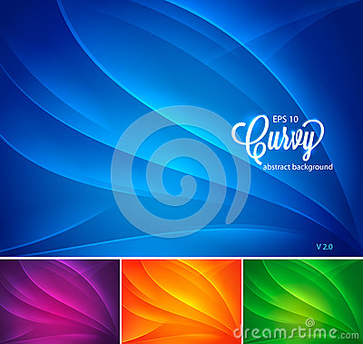 Free Curvy Abstract Background Vol 2 Stock Photo - 30184830