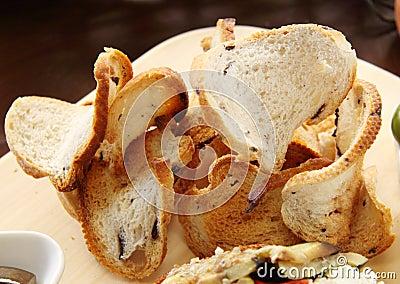 Curvy Crispy Bread