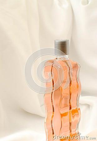 Curvy Glass Bottle