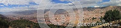 Cusco panoramic view