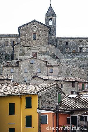 Cusercoli, Italian Old Town