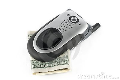 Custo do telefone de pilha