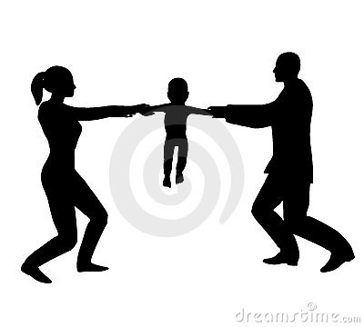 Custody Battle Fighting Over Baby