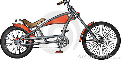 Custom bicycle illustration