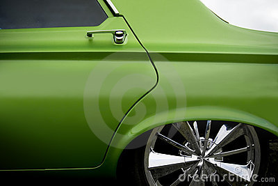 Custom car detail