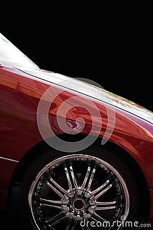 Custom Chrome Rims