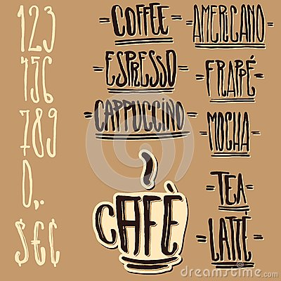 Custom Coffee Tags and Design Elements