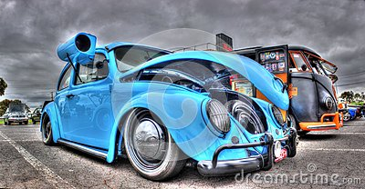 Who Designed The Vw Beetle >> Custom Designed VW Beetle With Swamp Cooler Editorial