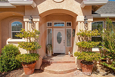 Custom home and garden