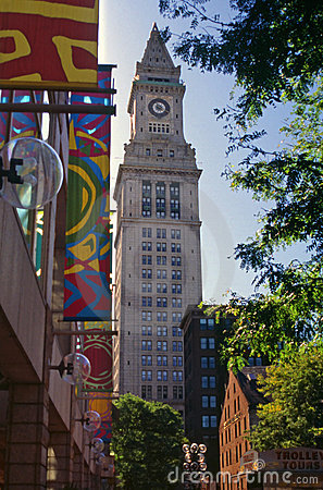 Custom house,boston,massachusetts Editorial Photo