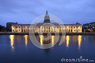 Custom House in Dublin Ireland