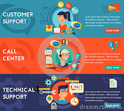 Free Customer And Technical Support  Call Center Concept Royalty Free Stock Photo - 72959405