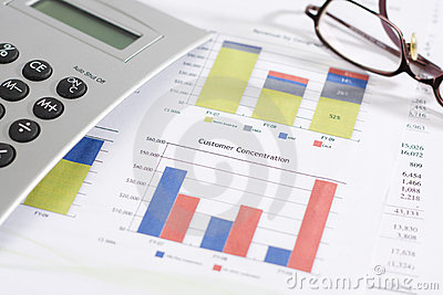 Customer Concentration Chart and finances
