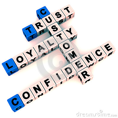 Customer loyalty and trust