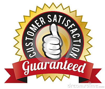 Royalty Free Stock Photography: Customer Satisfaction Guaranteed