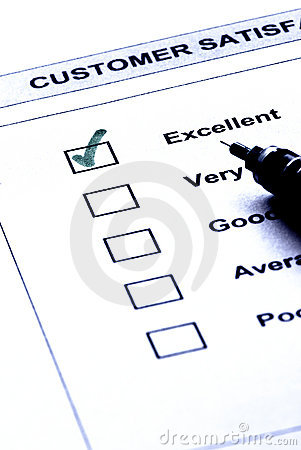 Customer satisfaction service