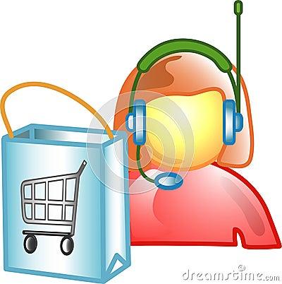 Customer Service career icon o