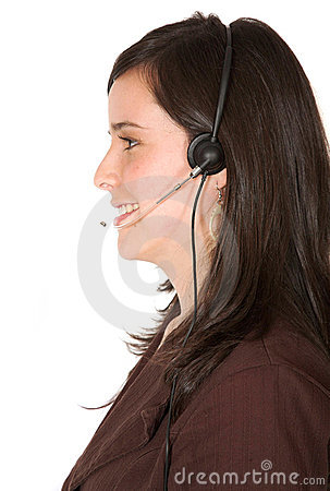 Customer services - beautiful smile