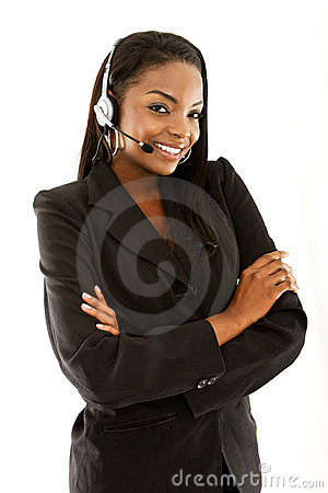 Customer Services Representative Stock Photo - Image: 7069860