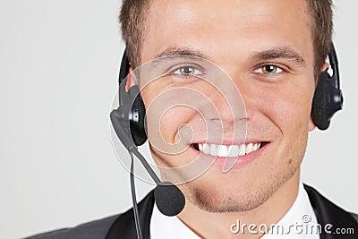 Customer support operator