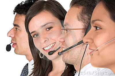 Customer support team