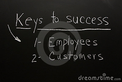 Customers & employees-keys to success