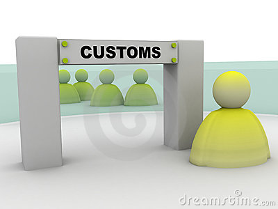 Customers transit