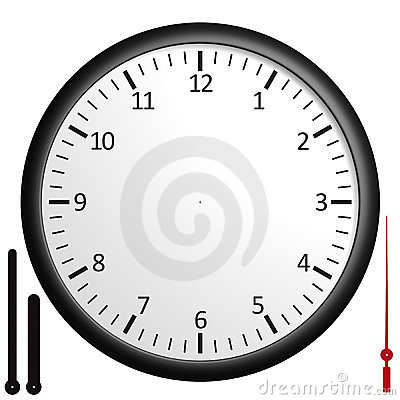 Free Customizable Blank Clock Stock Images - 6852724
