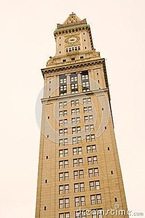 Customs House tower clock