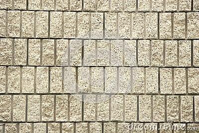 Cut Block Wall