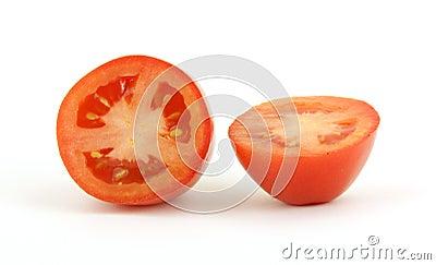 cut roma tomato
