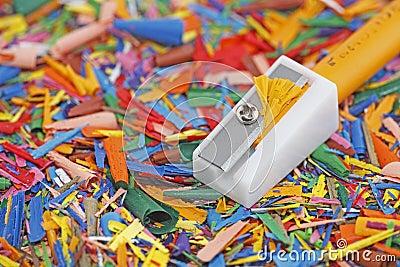 Wax pencil sharpener