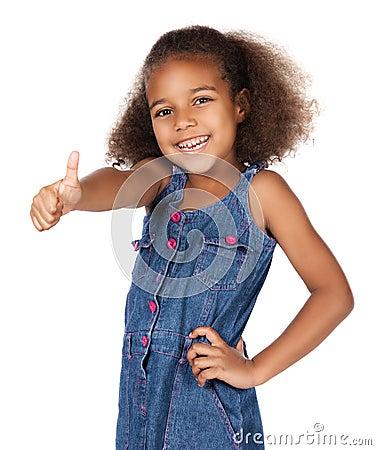Cute african girl